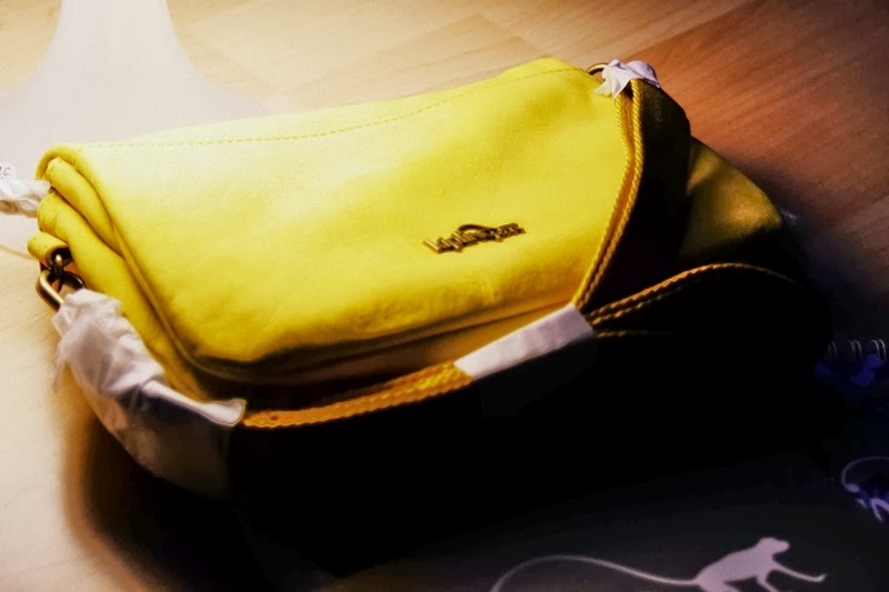 kipling yellow bag
