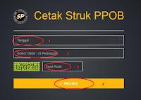 Langkah Cetak struk Token Pln Siupi Corporation