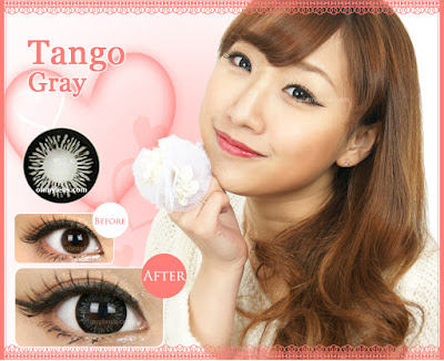 Tango Gray Contact Lenses at ohmylens.com