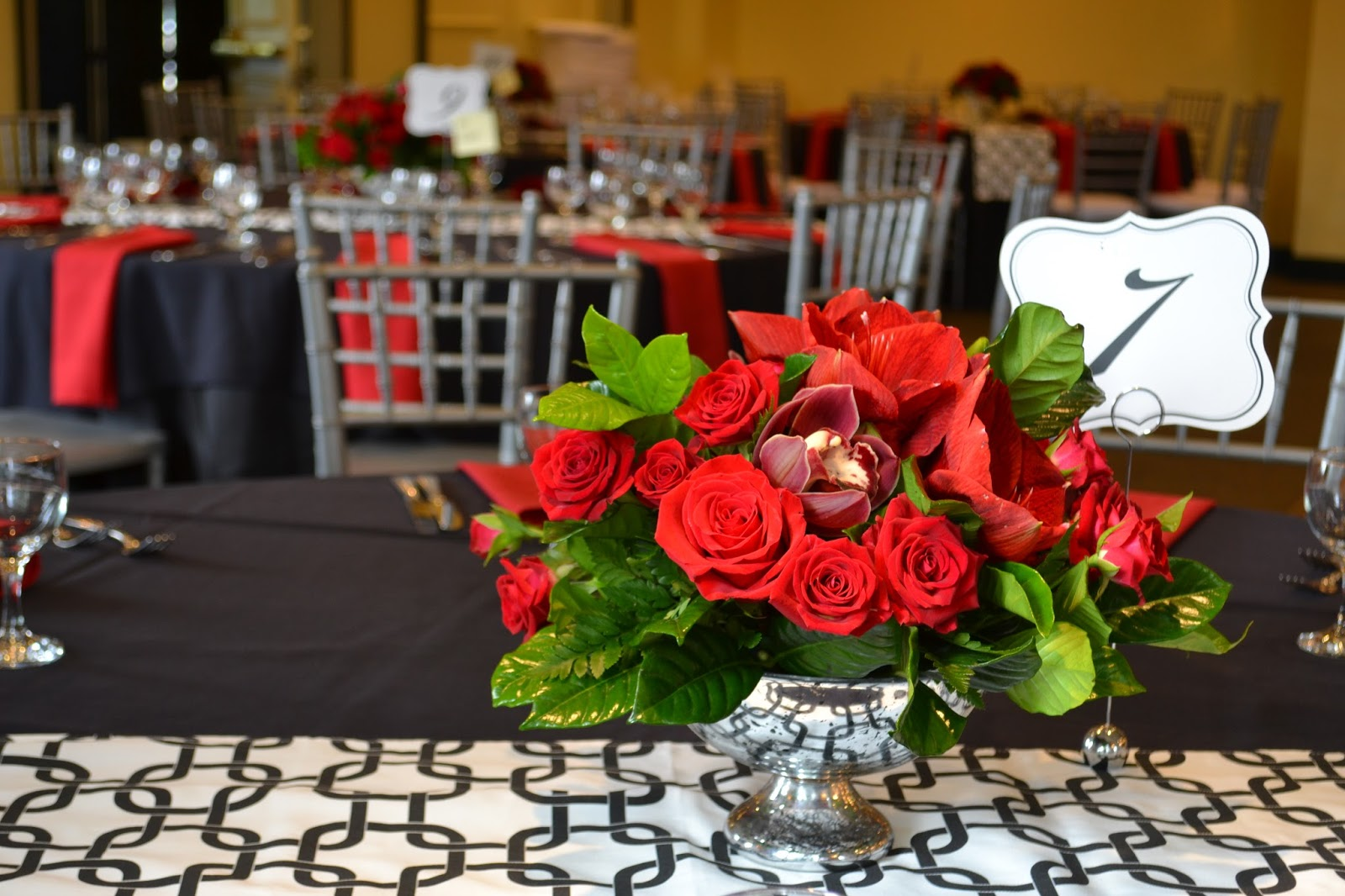 Stunning Red Wedding At Argyle Country Club Silver Spring Md