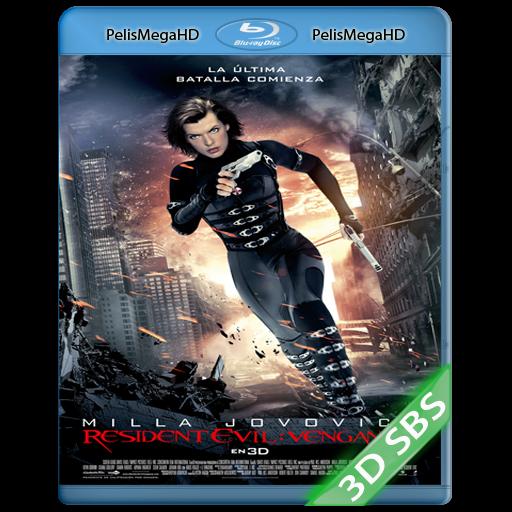 Resident Evil 5: Venganza (2012) 3D SBS 1080p HD MKV Español Latino