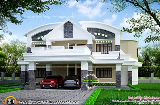 house at kodungallur thrissur kerala home design and july 2014 kerala home design and floor plans