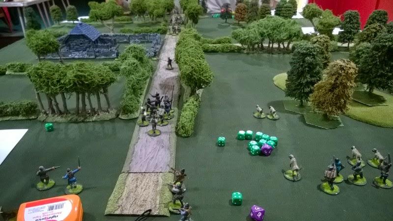 Border reivers wargame terrain grand manor