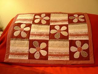 Patchwork babatakaró, baby blanket, applikáció