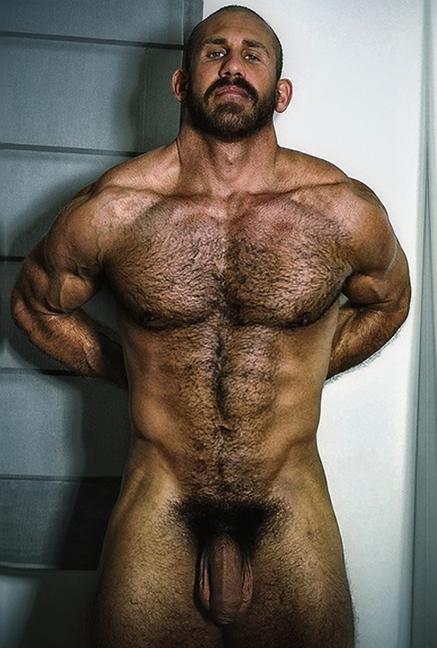 волосатый голый мужик фото