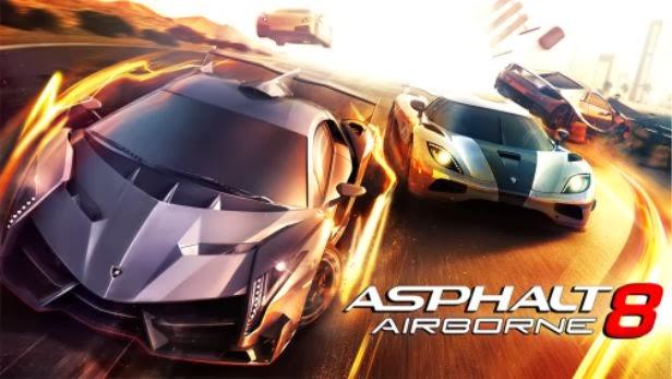 احدث العاب السباقات والسرعة الرائعة لاجهزة اندرويد وابل وايفون وايباد وايبود Asphalt 8 Airborne v1.2 مجانا وحصريا تحميل مباشر Asphalt+8+Airborne+v1.2