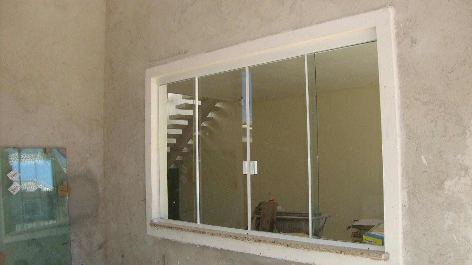 #3F728C Odisseia Habitacional: Janelas instaladas! 184 Janelas De Vidro Na Potiguar