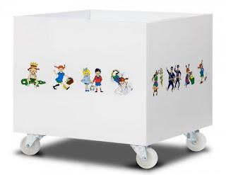 Organizadores de juguetes, Enseñando el Orden