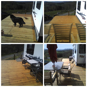 The deck is done and looks great!