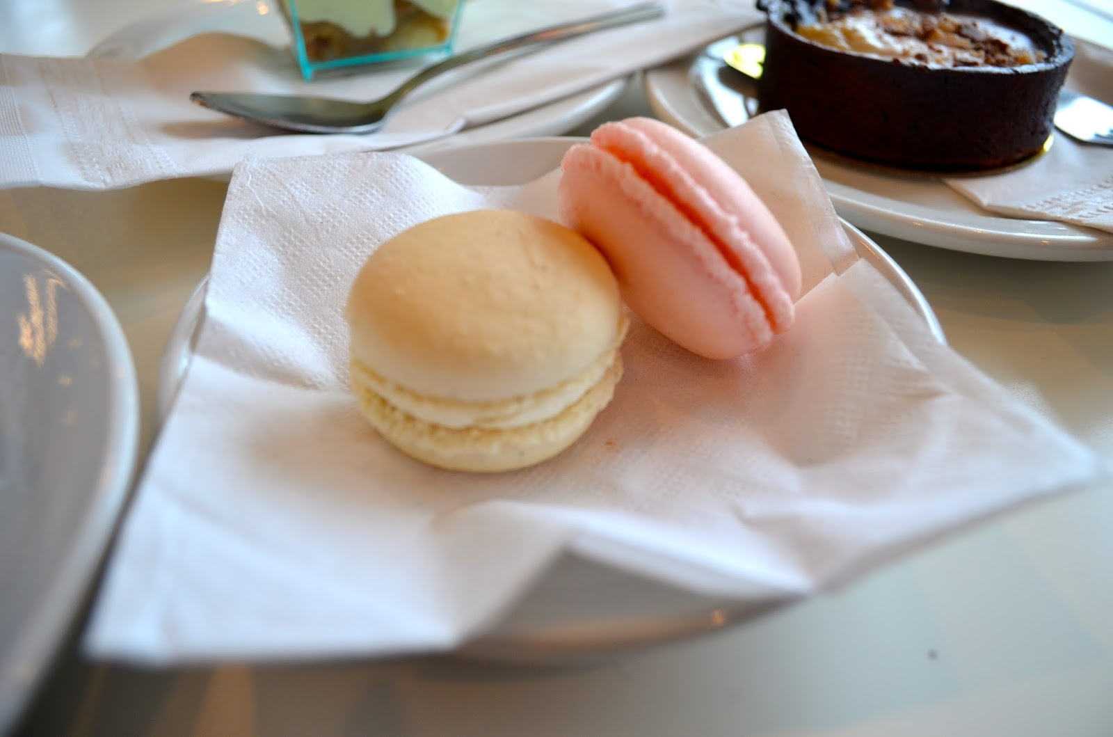 Macarons at Chapelure