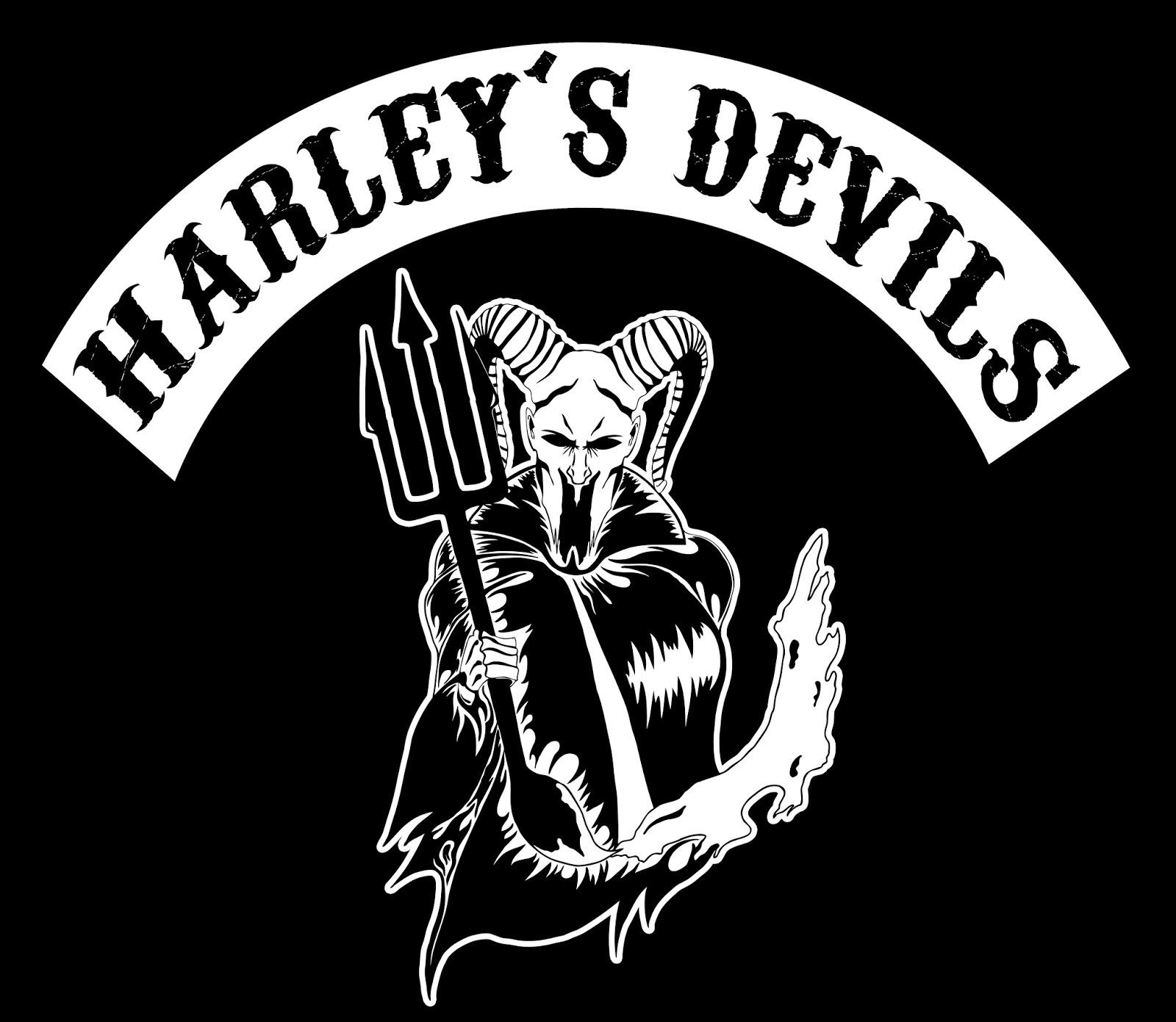 James McLarney Art: Harley\'s Devils Logo