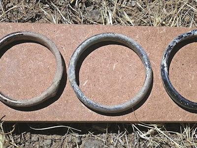 Roman-era bracelets found in Central Anatolia