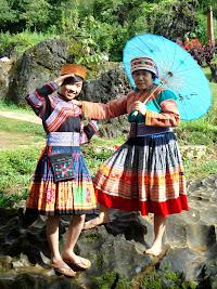 Hmong à Sapa, Vietnam