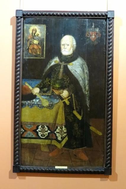 Неизвестный художник, портрет В.К. Дунина-Борковского, 17 век