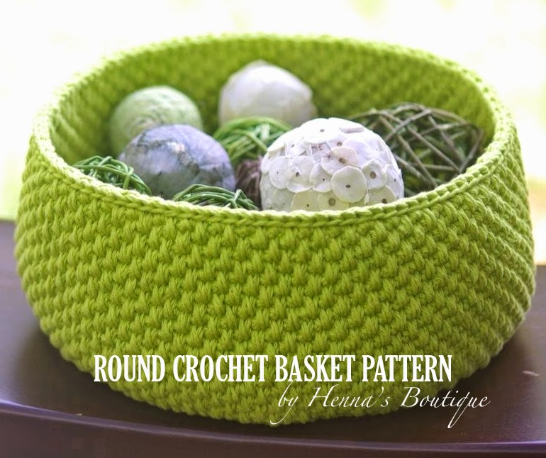 Crochet Stitches Basket : now to the basket pattern on its way here s a sneak peak to a basket i ...