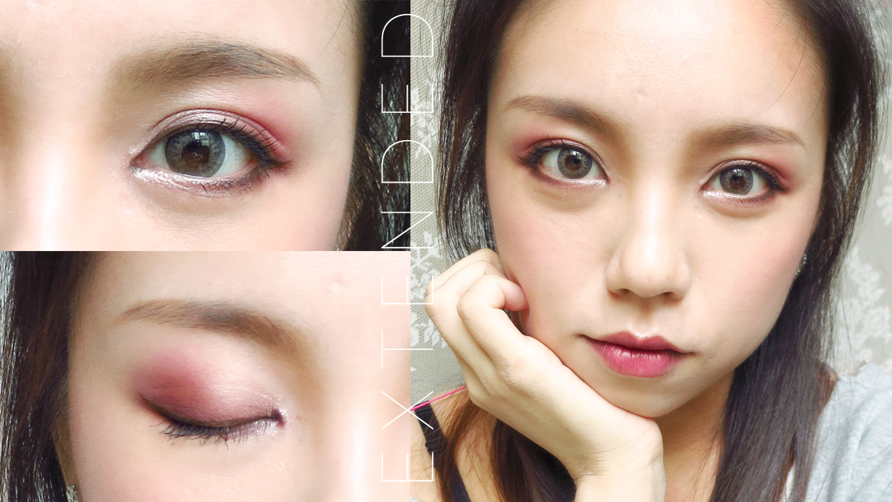 Burgundy Smokey Eye Tutorial For Asian Eyes Madokeki