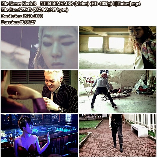 Download MV Block B - NILLILI MAMBO (Melon Full HD 1080p)