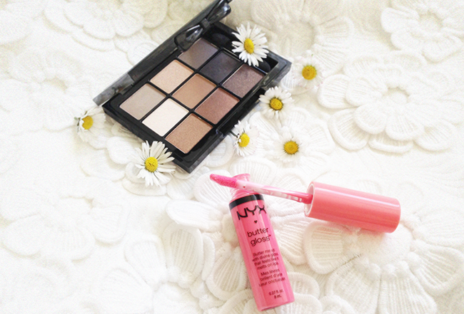 NYX Love in Paris Parisian Chic Butter Gloss Peaches and Cream aimerose blog review