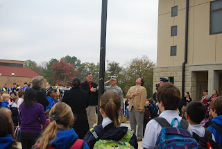 Montgomery Catholic Preparatory School's Holy Spirit Campus Flag Pole Dedicated to Raymond A. Vollenweider, Sr. 3