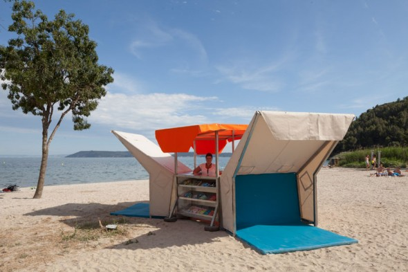 Mobile Beach Library