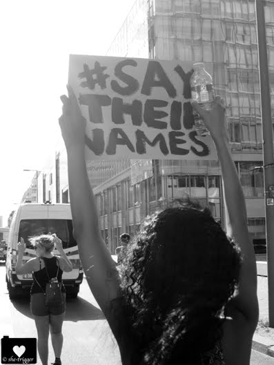 # say their names