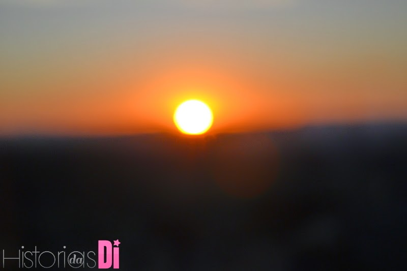 Momento do por do sol