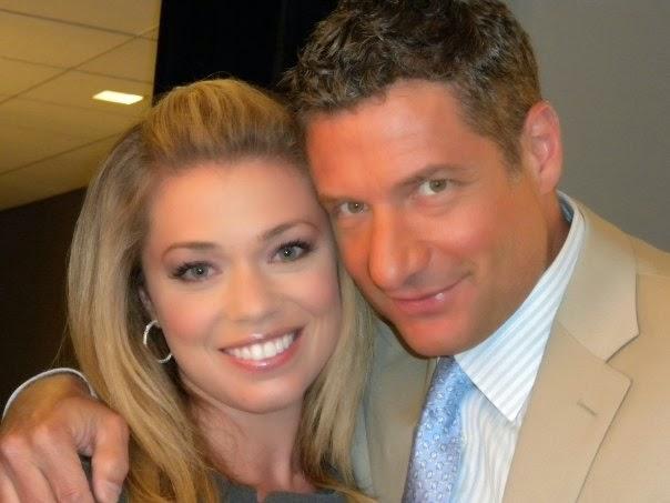 Lauren Sivan with ex-fiance Rick Leventhal