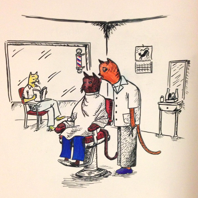 Kitty Barbershop
