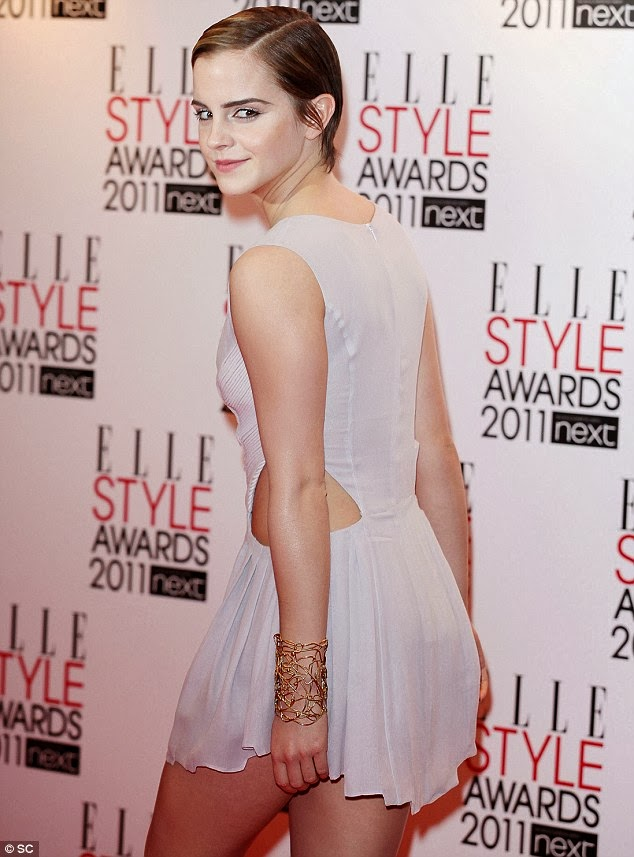 Emma Watson Tattoo Right Shoulder
