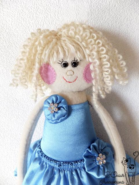 Кукла длинноножка по фото. Невеста Алена