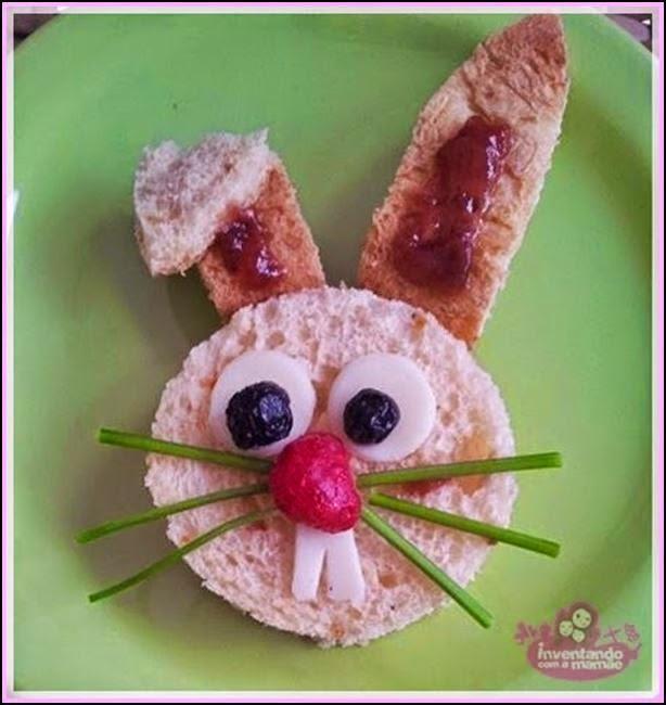 Comida criativa para a páscoa