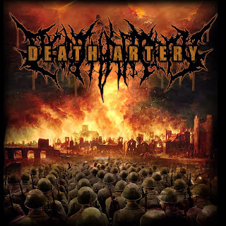 Death Artery Band Death Metal Yogyakarta Logo Font Artwork Foto Wallpaper