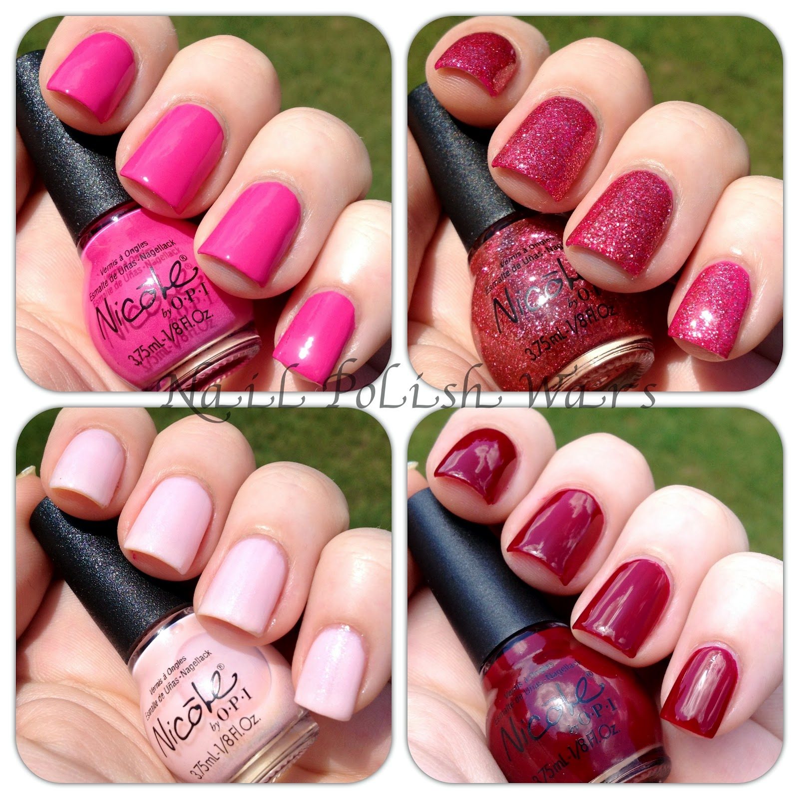 Nail Polish Wars: Nicole by OPI Celeb-Bitties Kardashian Kolor Minis ...