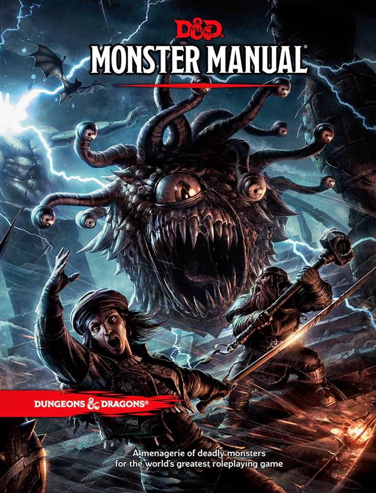 dungeons & dragons D&D roleplaying game monster manual