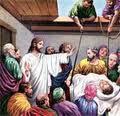 Orang lumpuh yang disembuhkan Yesus