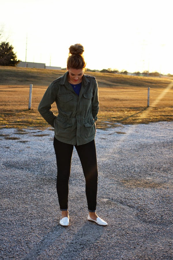 military_jacket_and_jeans_flats