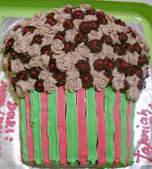 Kek Dlm Bentuk Cupcake