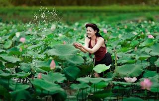 Thai nha van lo nhu hoa 031 Trọn bộ ảnh Thái Nhã Vân lộ nhũ hoa cực đẹp