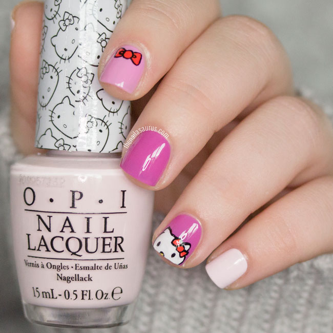 Hello Kitty Nail Polish Opi Gel Hession Hairdressing