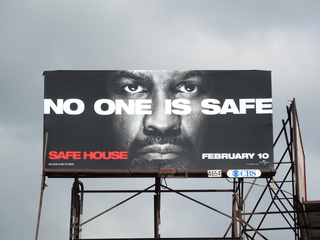 Safe House billboard