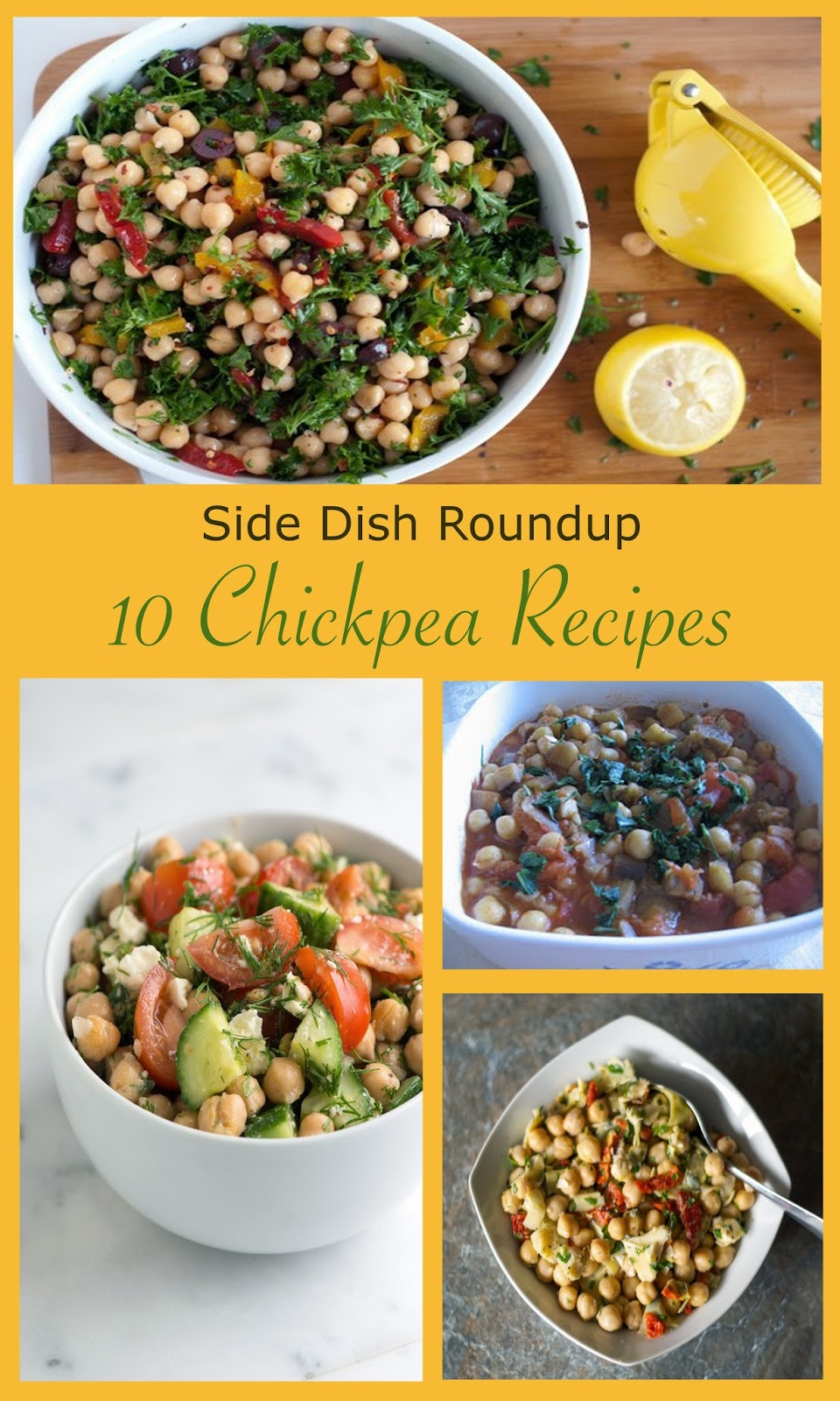 Chick Pea Side Dish Recipes