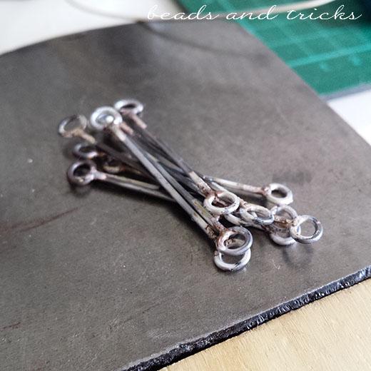 Elementi di catena saldati in argento 925