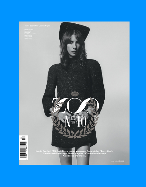 Jamie Bochert by Laetitia Negre for Zoo Magazine No.40