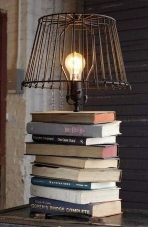 id es de recyclage avec de vieux livres arda d co. Black Bedroom Furniture Sets. Home Design Ideas