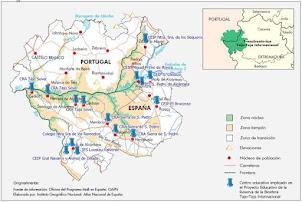 Centros Educativos Implicados en la Reserva del Biosfera del Tajo-Tejo Internacional