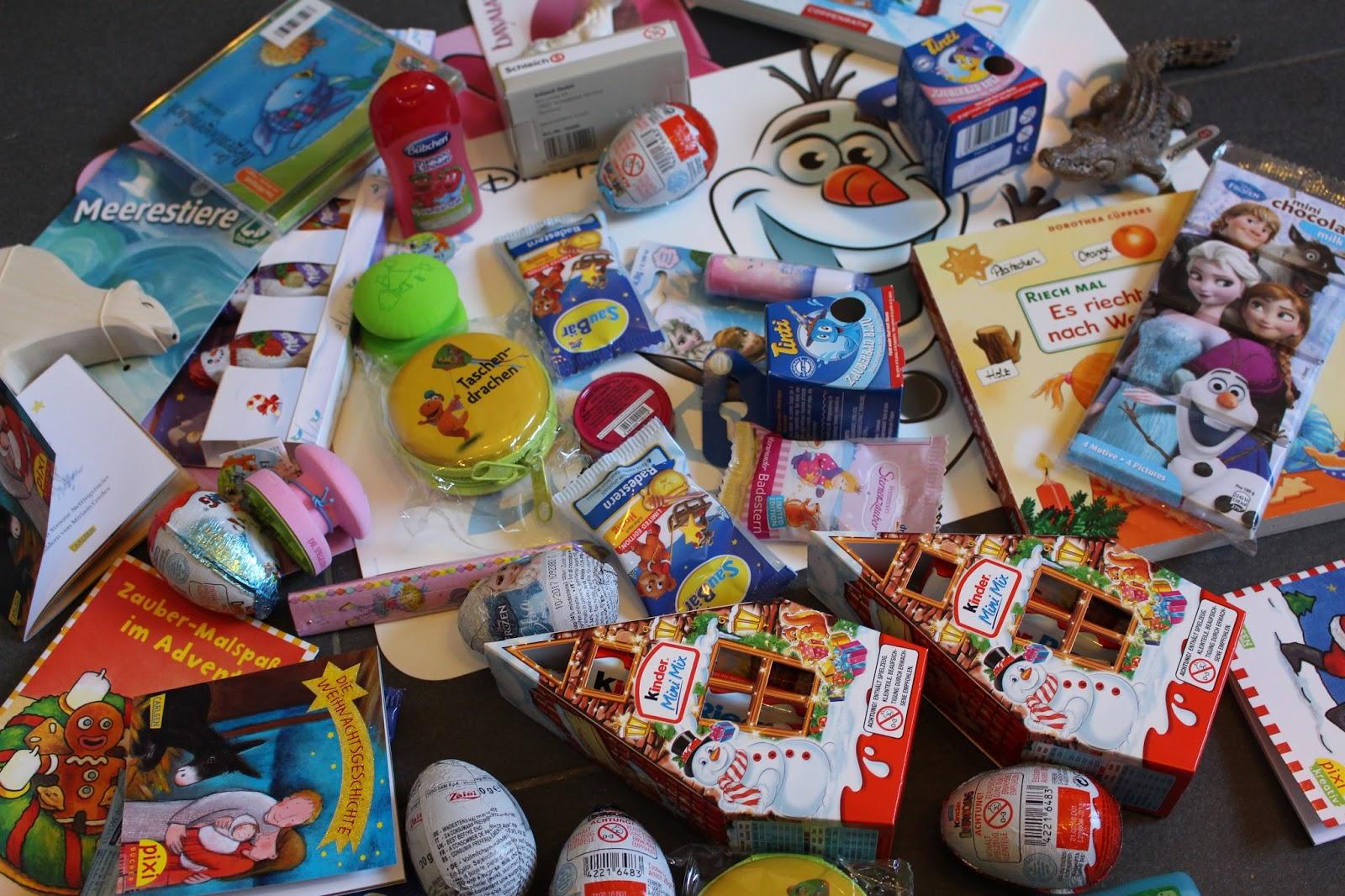 Minimann & Elfenkind: Kleinigkeiten für den Adventskalender