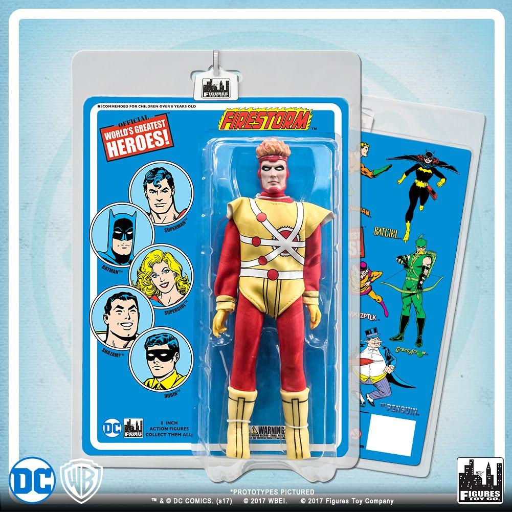 DC Comics Retro Style 8 Inch Figures Batman Retro Series 4 Commissioner Gordon