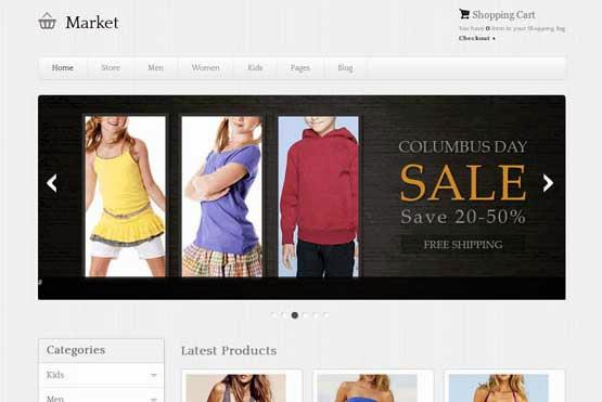 eMarket Premium eCommerce Theme