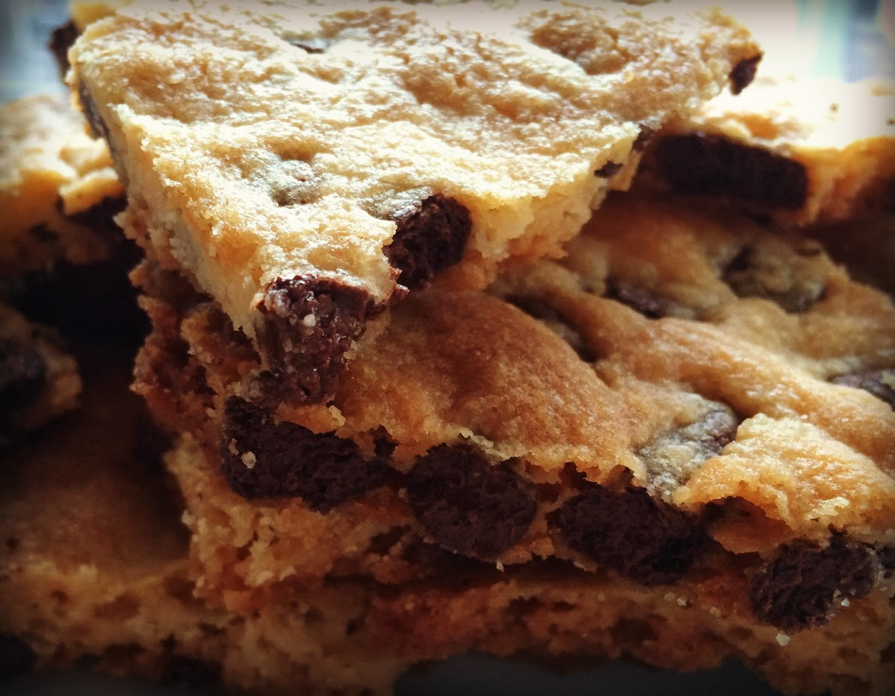 Pecan Chocolate Chip Cookie Brittle