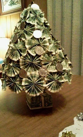 Origami Christmas Tree Decorations